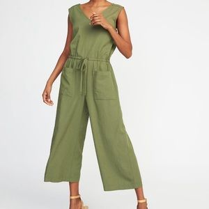 Green romper jumpsuit
